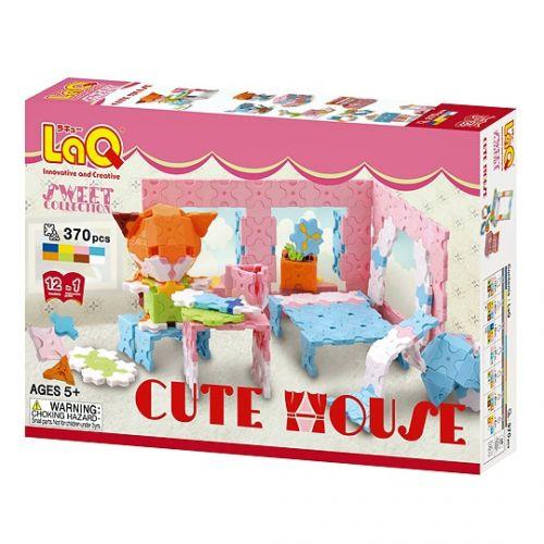 ลาคิว ของเล่น ตัวต่อ เสริมพัฒนาการ เสริมทักษะ พัฒนาสมอง LaQ Sweet Cute House box