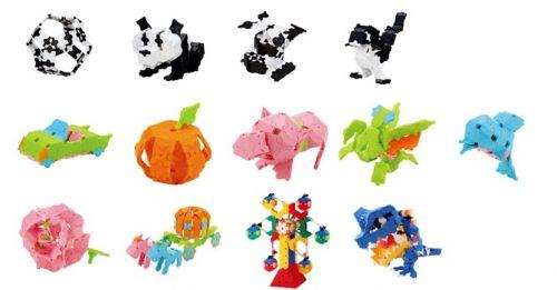 ลาคิว เบสิค LaQ Basic 5000 ของเล่น เสริมพัฒนาการเด็ก ผลิตในญี่ปุ่น กล้ามเนื้อมัดเล้ก