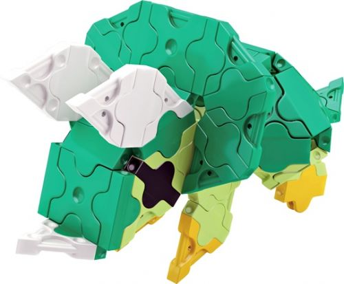 LaQ Mini Triceratops Model 1