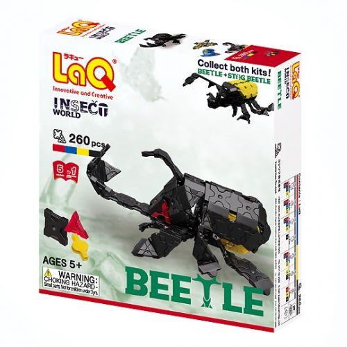 LaQ Insect Beetle Box ลาคิว ชุดแมลงด้วง สีดำ กล่อง