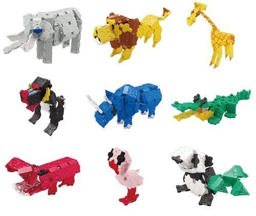 LaQ Animal Wild Kingdom Model 1 ลาคิว ชุดอาณาจักรสัตว์ป่า โมเดล 1
