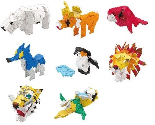LaQ Animal Wild Kingdom Model 2 ลาคิว ชุดอาณาจักรสัตว์ป่า โมเดล 2