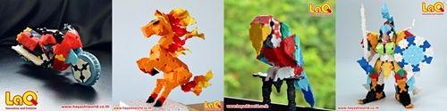LaQ LaQThai Models horse parrot cute ลาคิว โมเดล น่ารัก ตัวต่อลาคิว Hayashi World