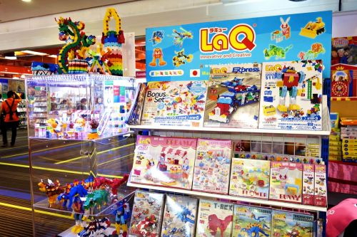 LaQ Book Expo 2015 Plan for kids